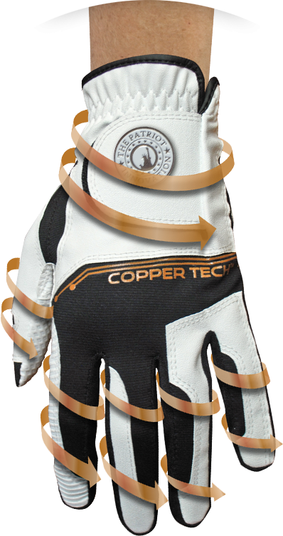 Copper Infused Golf Glove